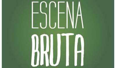 logotipo de escena bruta