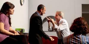 una escena de la obra TEATRO PARA PÁJAROS de Histrión Teatro