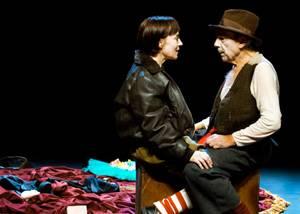 una escena dee El pRincipito con los actores José Luis Gómez e Inma Nieto
