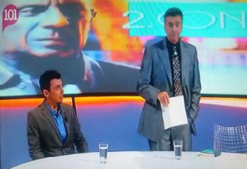 Jorge Villalobos en 101 televisión entrevistado por Domi del Postigo. - jorge-villalobos-4