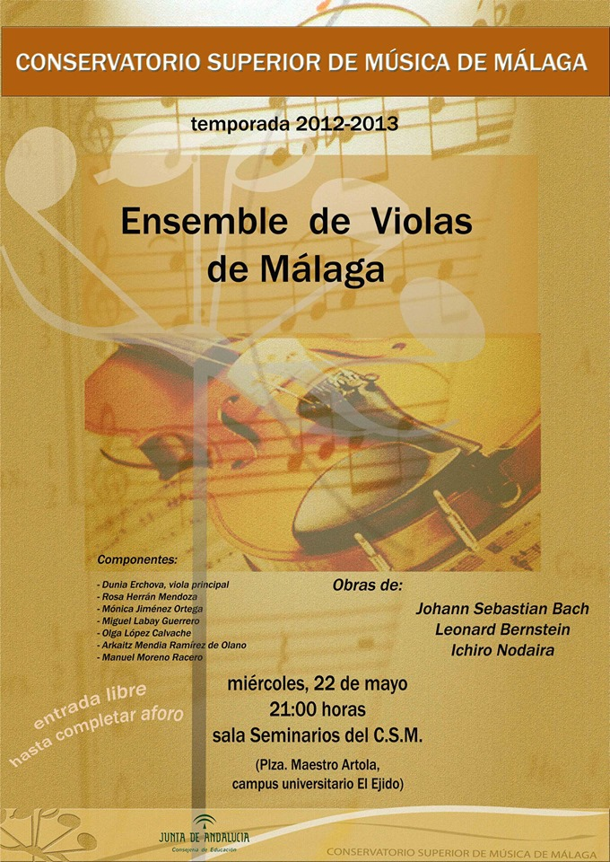 ensemble de violas