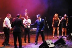 The Stars from The Commitments. Terral 2013. Málaga. Teatro Cervantes.