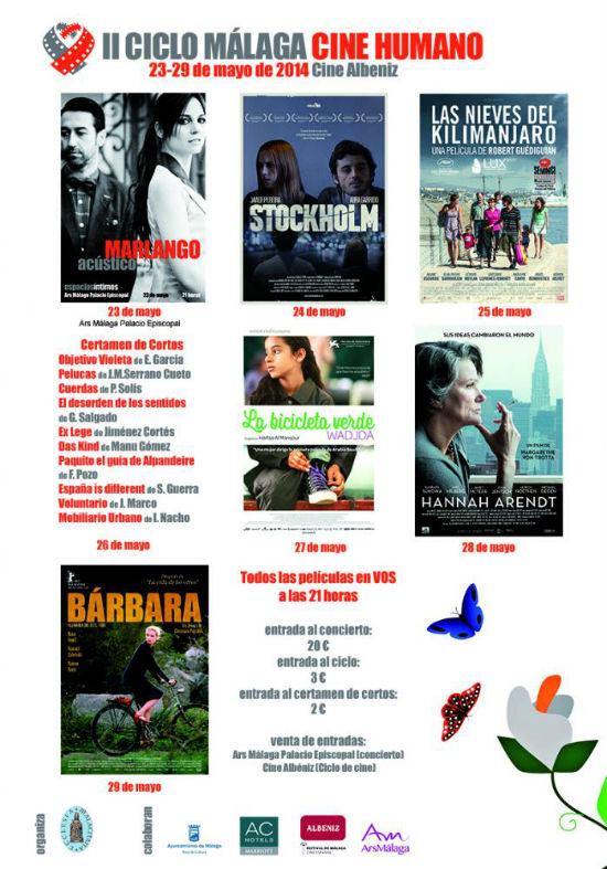 II Ciclo Málaga de Cine Humano en el Cine Albéniz. Marlango. Leonor Watling.