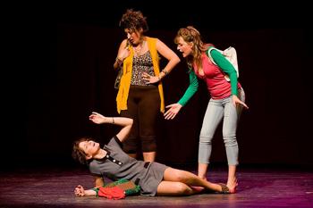 La maleta de los nervios en el Teatro Echegaray