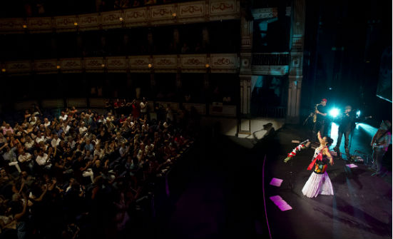 Lila Downs. Terral 2015. Teatro Cervantes.