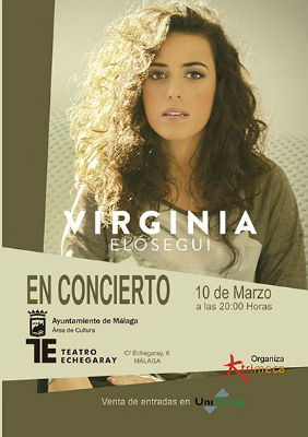 Virginia Elósegui en el Teatro Echegaray