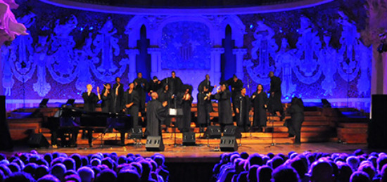 Alabama Góspel Choir, Teatro Cervantes, Eurospectacles, Bryson Robinson,