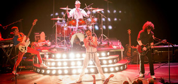 Tributo a Queen, Queenie, Show must go on, Break Free e Quartetto d'Archiy, Teatro Cervantes,