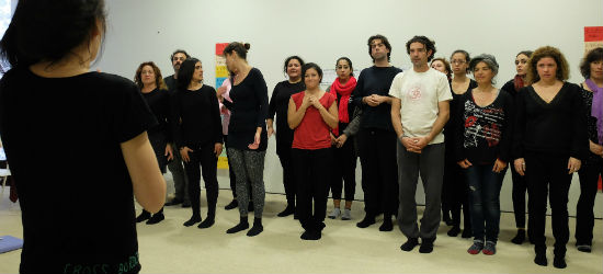 Museo Carnem Thyssen Málaga, Taller de Teatro Aplicado, The Cross Border Project, Eva Sanguino,
