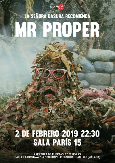 Cartel Mr Proper