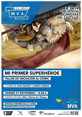 cartel inciacion al comic