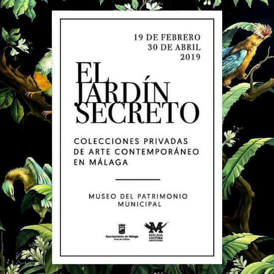 Exposición El jardín secreto, cartel